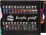 Kit de 48 Tubos de Pintura Acrílica (12mL) - Pinturas Acrilicas Profesional