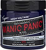 Manic Panic - Rockabilly Blue Classic Creme Vegan Cruelty Free Semi Permanent Hair Dye 118ml