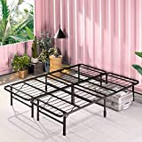 ZINUS SmartBase Zero Assembly Mattress Foundation / 14 Inch Metal Platform Bed Frame / No Box Spring Needed / Sturdy Steel Frame / Underbed Storage, Full