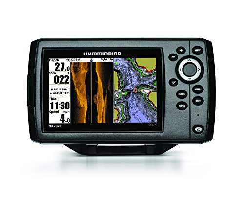 Humminbird 409640-1 HELIX 5 SI Fish Finder with Side-Imaging and GPS by Humminbird
