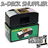 Brybelly Two Deck Card Shuffler with 2 Free Decks of Bicycle Playing...