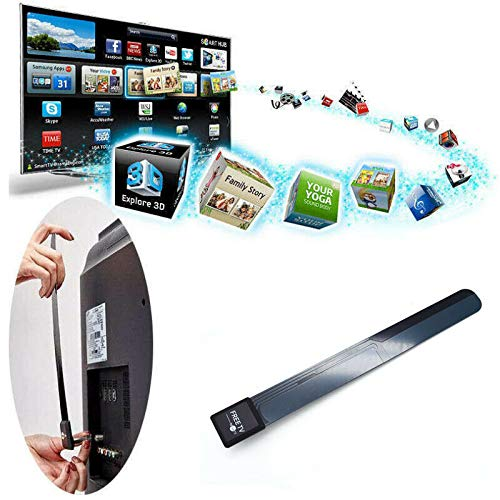US Clear TV Key HDTV Free TV Digital Indoor Antenna Ditch Cable As...