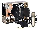 Rode NT1-A micrófono Micrófono vocal Alámbrico Oro Microfonos (Micrófono vocal, 20-20000 Hz, Cardioide, Alámbrico 50 mm, 50 mm)
