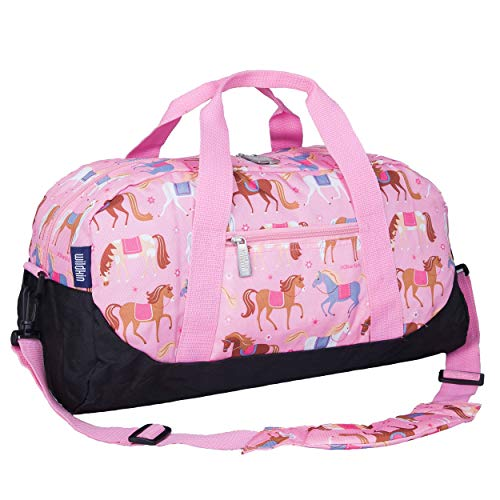Kids Overnighter Duffel Bag (colors and designs for both boys and girls)
