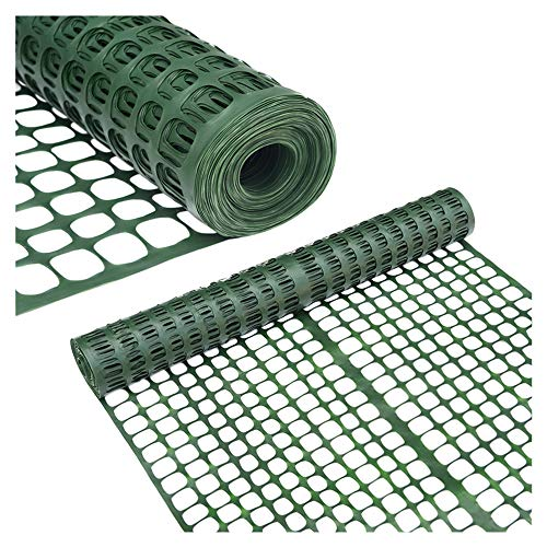 Abba Patio Safety Fence 4' X 100' Feet Plastic Garden Netting...
