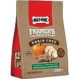 Milk-Bone Farmer's Medley Dog Treats, Turkey & Pumpkin, 12 Ounces (Pack of 4), Grain Free