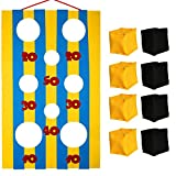 OOTSR Carnival Toss Games with 8 Bean Bag for Party Favor Supplies - Felt Banner for Carnival Party Activities