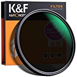 K&F Concept Filtro ND 67mm Nano Slim Filtro Neutro de Colores ND2-ND32 Filtro de Lente Ajustable ND2 ND4 ND8 ND16 ND32