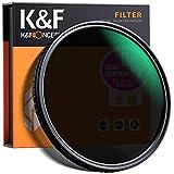 Filtro ND da 77 mm K&F Concept, Densità Neutra Regolabile, Filtro Fotografia Variabile (ND2 a ND32), per Tutti gli Obiettivi di Fotocamera DSLR con Filettatura da 77 mm