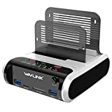 WAVLINK Station d'accueil pour Disque Dur USB pour SSD HDD SATA 2,5 ou 3,5...