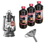Feuerhand 276 Lampe à pétrole galvanisée avec entonnoir en acier...