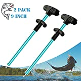 Fish Hook Remover, Easy Reach and Portable Aluminum Fish Hook Remover Tool, Pro Fishing Hooks...