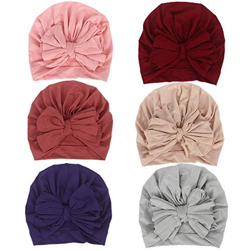 Newborn Baby Cotton Cloth Turban Toddler Rabbit Hospital Hat Ear Hat Kids Set Baby Cap (MN18)