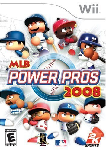 MLB Power Pros 2008 - Nintendo Wii (Renewed)