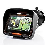 BW All Terrain 10,9cm Motorrad GPS Navigation System Rage–wasserdicht, 4GB interner Speicher, Bluetooth