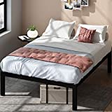 ZINUS Lorrick Metal Platform Bed Frame / Mattress Foundation / Easy, Bolt Free Assembly, Queen
