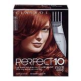 Clairol Nice'n Easy Perfect 10 Permanent Hair Dye, 6R Light Auburn Hair Color, 1 Count