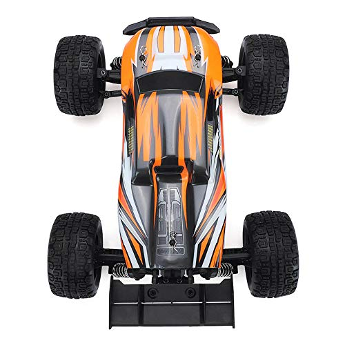 RONSHIN SG1602 2.4G 2CH 1/16 Brushless 45KM/H Proportional Control RC Car High Speed 45km/h Vehicle Models with LED Lights Orange
