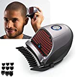 LoveAr Hair Clippers, Shortcut Self-Haircut Kit, Professional Hair Clippers for Men Bald Head Clipper Hair Clippers Cordless Rechargeable Hair Cutter Shaving Machine with 9 Combs