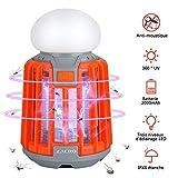Zacro 2 en 1 Lampe Anti Moustique Lumières de Camping...
