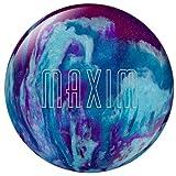 Ebonite Maxim Bowling Ball, Purple/Royal/Silver, 11-Pound