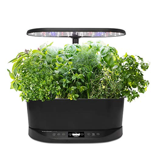AeroGarden Bounty Basic Hydroponic Garden, Black