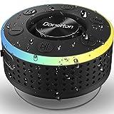Enceinte Douche Bluetooth Portable, Étanche Haut-Parleur de Douche sans Fil IP7...
