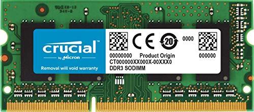 Crucial RAM CT51264BF160B 4 GB DDR3L 1600 MHz CL11 Memoria Portátil