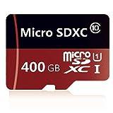 Gentai Carte Micro SD Classe 10 UHS-I TF 128 Go/400 Go avec adaptateur 400...