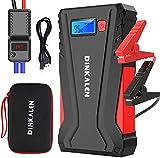 DINKALEN Booster Batterie Voiture 12800mAh 800A Portable Booster de Batterie...