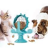 Aoliandatong Jouets de nourriture pour chiens et chats - Roulette - Jouet à manger lent -...