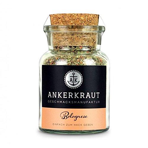 Ankerkraut Bolognese Gewürz, 100g im Korkenglas