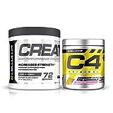 Cellucor Pre Workout & Creatine Bundle,  C4...