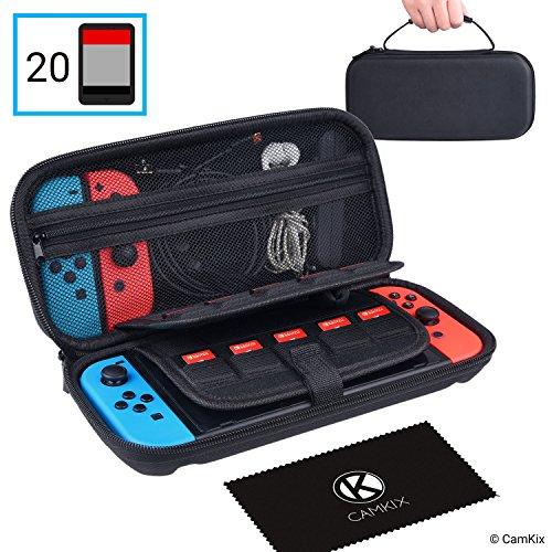 CAMKIX Étui Compatible avec Nintendo Switch - Protège Votre Console...