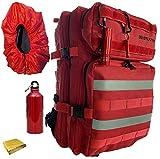 Pack sac à dos Randonnée style militaire Tactique Multifonction Trekking...