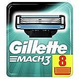 Gillette Lames Mach3 Homme, Pack de 8 lames [OFFICIEL]