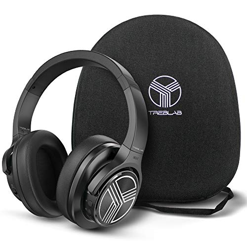 TREBLAB Z2 | Over Ear Workout Headphones with...