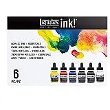 Liquitex 3699314 Pro Inks Peintures Acrylique, Multicolore (6 Colors-Essentials...