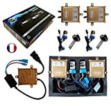 VEGA Kit HID Xénon Marque Francaise H7 10000K 55W Slim DSP AC Ampoules à...