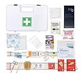 Maletín de primeros auxilios para empresas de 10personas (conforme a la normativa laboral francesa)