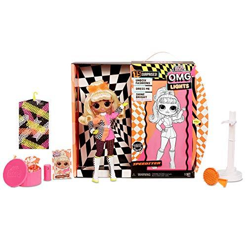 Image 5 - L.O.L. Surprise! Poupées mannequins collectionnables – Avec 15 surprises, vêtements et accessoires - Speedster – Série O.M.G. Lights