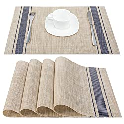 Artand Placemats, Heat-Resistant Placemats Stain Resistant