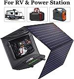 ECO-WORTHY 120W Panneau solaire pliable avec contrôleur de charge,...