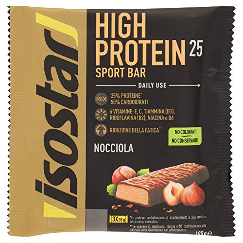 Isostad Powerplay High Protein Aroma Nocciola, 3 x 35g