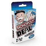 Monopoly Deal - Jeu de societe de Voyage - Jeu de cartes - Version...