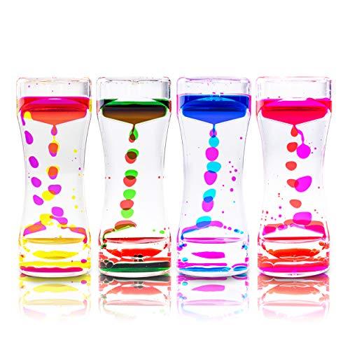 Super Z Outlet Liquid Motion Bubbler for Sensory Play,...