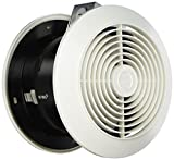 Broan-NuTone 512 Room Ventilation Plastic White Square Exhaust Fan, 4 Sones, 90 CFM, 6 inches