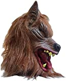 YOUDirect Halloween Wolf Mask Wolf Head Mask for Halloween and Cosplay Costume Party (Wolf Mask)