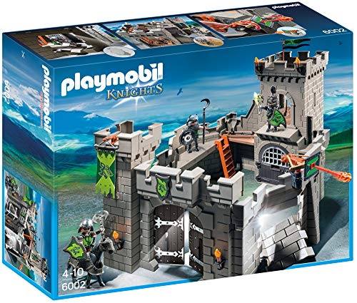PLAYMOBIL Knights - Wolf Knights` Castle Play Set (6002)
