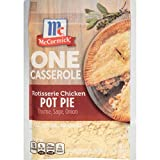 McCormick ONE Casserole Rotisserie Chicken Pot Pie Seasoning Mix, 1.25 oz